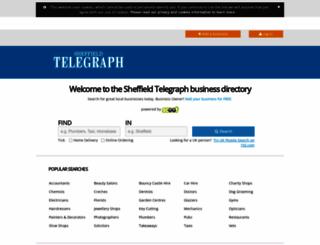 findit.sheffieldtelegraph.co.uk screenshot