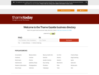 findit.thametoday.co.uk screenshot