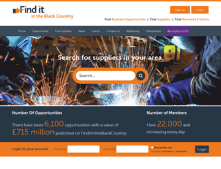 finditinsandwell.co.uk screenshot