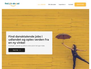 findjobabroad.com screenshot