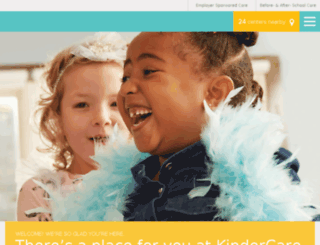 findkindercare.com screenshot