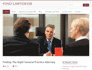 findlawyerdb.com screenshot