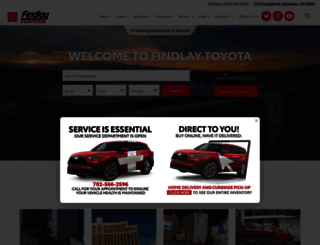 findlaytoyota.calls.net screenshot