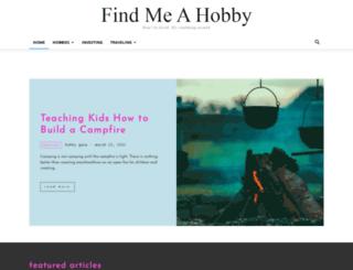findmeahobby.com screenshot