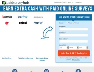 findmeasurvey.com screenshot