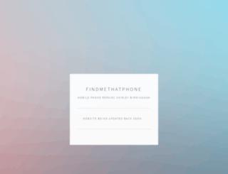 findmethatphone.co.uk screenshot