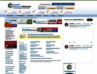 findmydedicatedhost.com screenshot