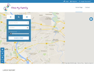 findmyfamily.co.in screenshot