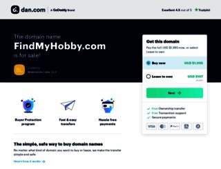 findmyhobby.com screenshot