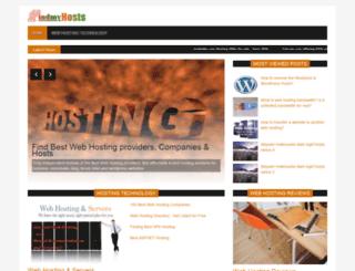 findmyhosts.com screenshot