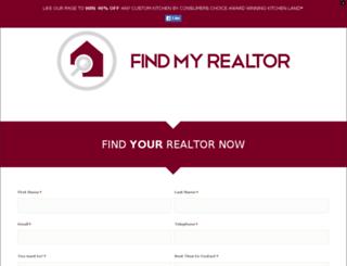 findmyrealtor.ca screenshot
