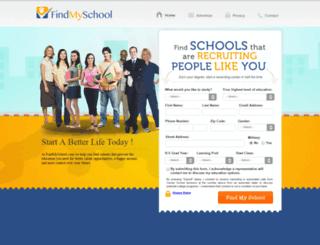 findmyschool.com screenshot
