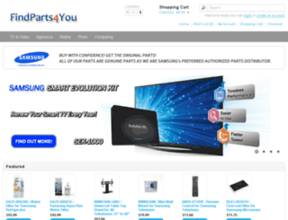 findparts4you.com screenshot