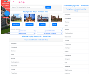 findpgs.com screenshot