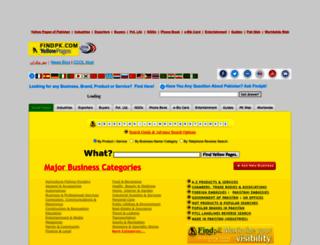 findpk.com screenshot