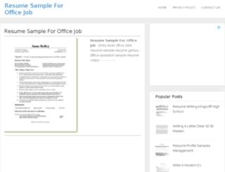 findresume.nsupdate.info screenshot