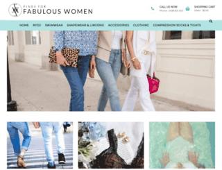 findsforfabulouswomen.com.au screenshot