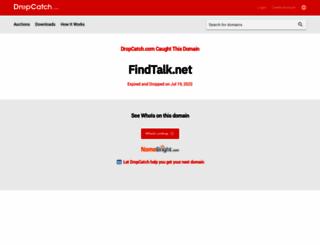findtalk.net screenshot