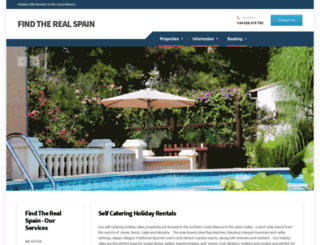 findtherealspain.co.uk screenshot