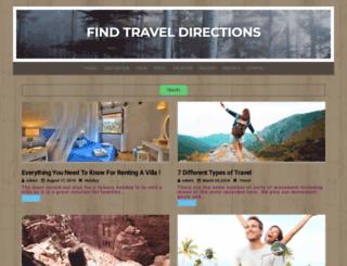 findtraveldirections.com screenshot