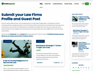 finduslawyers.org screenshot