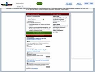 finduslocal.net screenshot