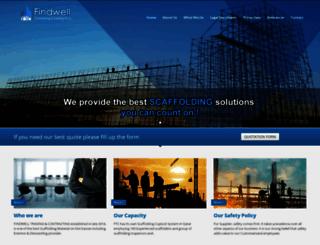 findwellcontracting.com screenshot