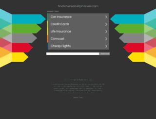 findwhereacellphoneis.com screenshot