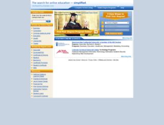 findyourdegree.com screenshot