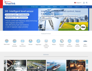 fine-tek.com screenshot