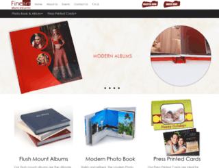 fineartalbums.co.uk screenshot