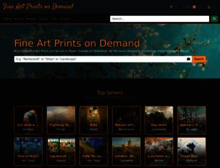 fineartprintsondemand.com screenshot