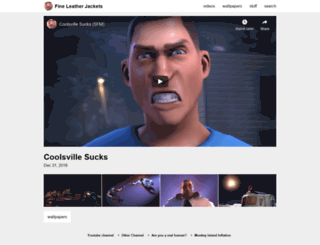 fineleatherjackets.net screenshot