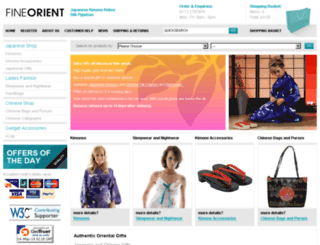 fineorient.com screenshot