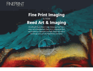 fineprintimaging.com screenshot