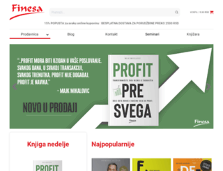 finesa.edu.rs screenshot