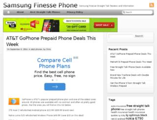 finessephone.com screenshot
