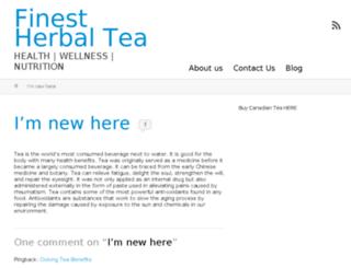 finest-herbal-tea.com screenshot