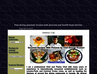 finestchef.com screenshot