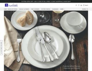 finestflatware.com screenshot