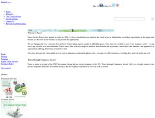 finestgroup.com.af screenshot