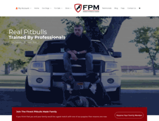 finestpitbullsmade.com screenshot