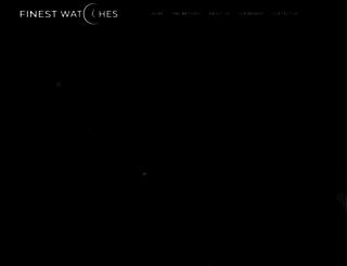 finestwatches.com screenshot
