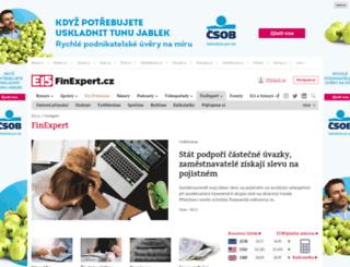 finexpert.e15.cz screenshot