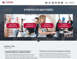 finfocus.cz screenshot