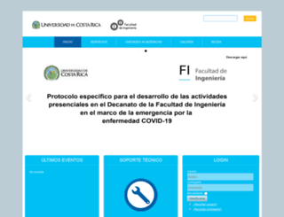 fing.ucr.ac.cr screenshot