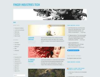 fingerindustries.wordpress.com screenshot