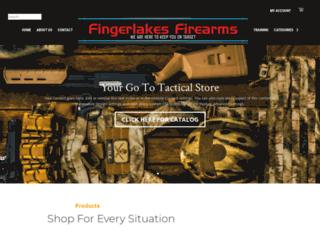 fingerlakesfirearms.com screenshot