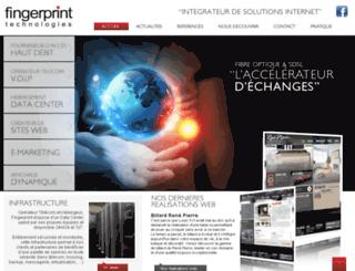 fingerprint-technologies.net screenshot