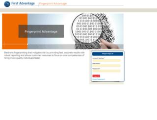 fingerprint.fadv.com screenshot